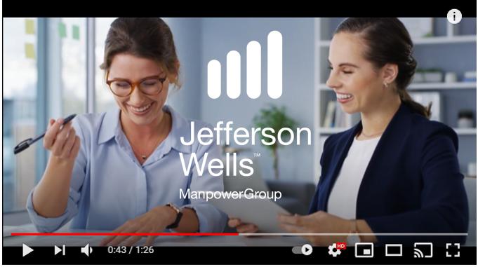 Jefferson Wells CHange request JEFF BELGIUM VIDEO PICTURE 2